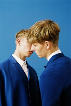 simon fitskie & valters medenis by bruna kazinoti for DUST magazine ss14