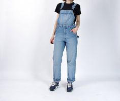 90s Gambler Workwear Denim Overalls / Men size M / Women M/L by Only1Copy on Etsy