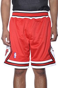 ae8c554aa3c Chicago Bulls Mitchell  amp  Ness HWC Authentic Red 1997-1998 Basketball  Shorts http
