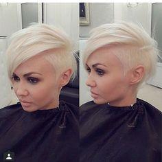 Useita blondeja hiustyylejä… RAKASTAN blondeja hiuksia! Etenkin kun olen nähnyt tämän!