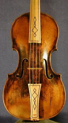Violin Anon. Master, Prague, 18th C.                                                                                                                                                                                 More