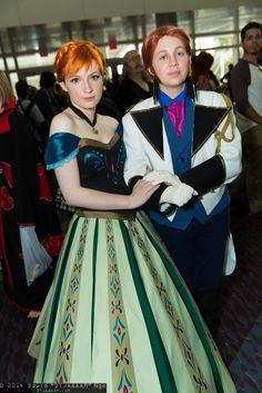 Disney-Frozen cosplay
