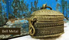 Bell metal craft Madhya Pradesh, Lost wax casting | Gaatha . गाथा ~ handicrafts