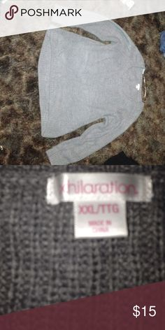 Grey high low sweater Super comfy soft and cute Xhilaration Sweaters Crew & Scoop Necks