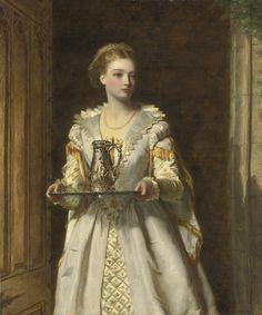 WILLIAM POWELL FRITH BRITISH 1819 - 1909 GABRIELLE D'ESTRÉES
