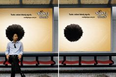 Bus Stop Advertisements #guerrilla