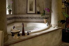 Imagine yourself in a hot, bubbly jacuzzi with a glass of wine and a nice book to read. A sweet recipe for relaxation!