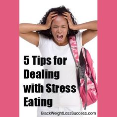 5 Tips for Dealing with Stress Eating: How to Stop Eating Your Emotions Easy Weight Loss, Weight Loss Journey, Healthy Weight Loss, Reduce Weight, How To Lose Weight Fast, Stress Eating, Healthy Diet Recipes, Healthy Eating, Dealing With Stress