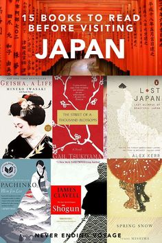 The best books about Japan to read before you visit. These novels, memoirs, and non-fiction books will help you learn about Japanese culture and history. Here are the best books to read in Japan before you visit! Best Travel Books, Literary Travel, Best Books To Read, Good Books, Ya Books, Book Suggestions, Book Recommendations, Book Club Books, Book Lists