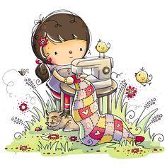 Rachelle Anne Miller - professional children's illustrator