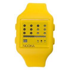 Nooka Zub Zot 20 jaune  Nooka @ My-Store.ch