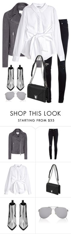 """""""Untitled #2981"""" by elenaday on Polyvore featuring Closed, H&M, Acne Studios and Yves Saint Laurent"""