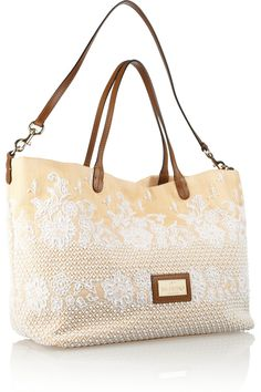 Valentino Embellished straw tote - 50% Off Now at THE OUTNET