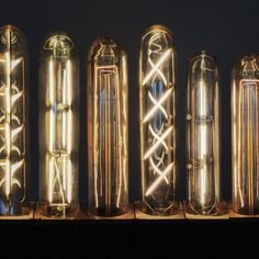 Finally, LED light bulbs with a vintage filament flare that conserve energy and still give you that authentic lighting effect from days past! These