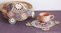 ergahandmade: Crochet Doilies + Diagrams
