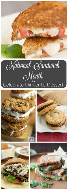 Celebrate National Sandwich Month from dinner to dessert with your favorite bloggers from around the web! @wholefoodrealfa