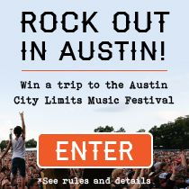 Rock out in Austin! Win a trip see Lorde, Outkast, The Avett Brothers and more. Package includes: 2 VIP passes to the Austin City Limits music festival, round trip airfare for 2, and a 3 night hotel stay. Don't miss you chance to experience 130 artists, local eats and awesome wares. Enter now: tastingtable.com/aclfest