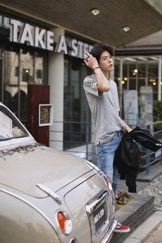 Sangil go korean model male