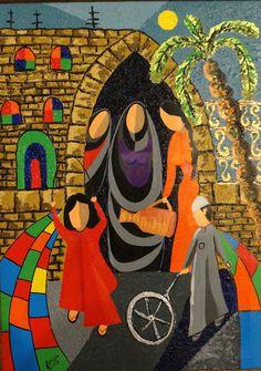 الفنانة التشكيلية منى مرعي - Google+