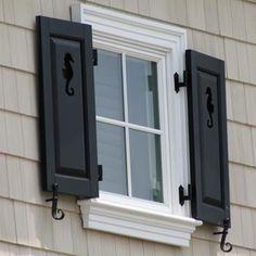 Atlantic Architectural Panel Window Shutters, (Per Pair) - 224.60