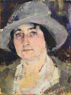 Portrait of Rae Gorson, 1926, by Nicolai Fechin (Russian/American, 1881-1955)