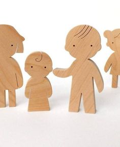 Baby child - 2,6 x 1,2 x 0,6 / 6,5 x 3x 1,5cm Made from black alder wood, with love :) Wood is completely natural and untreated. All of our toys are sanded satin smooth. 100% handmade Age suitability: 2 – 5 years. Gift Giving: If you would like us to include a short gift note, please
