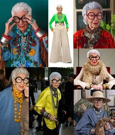 When I grow up I want to be a cool old lady - like Iris Apfel