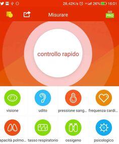 iCare health monitor l'app che monitora la tua salute e il tuo benessere Ecco una lista non completa presa dal sito: Misurazione della pressione arteriosa misurazione del health monitor health