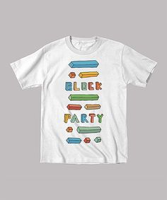 Loving this White 'Block Party' Tee - Infant, Toddler & Kids on #zulily! #zulilyfinds