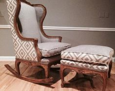 turn a chair into a rocking chair - Google Search