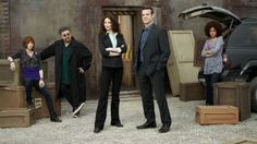 The Warehouse 13 team.
