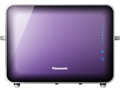 A Purple toaster which works like a toaster oven! Made of glass & stainless steel. Part of Panasonic Breakfast Collection™ Purple Toaster, Glass Toaster, Clever Design, Purple Haze, My Favorite Color, Stainless Steel, Kitchen Stuff, Breakfast, Oven