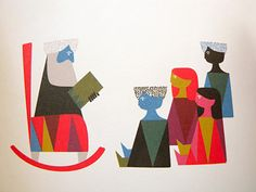 Image of storytelling illustration by Sanna Annuka from 'The Fir Tree'