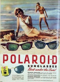 Polaroid sunglasses, 1961