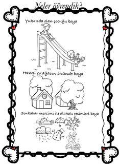 Kasım Alphabet Coloring Pages, Classroom Activities, Life Skills, Worksheets, Preschool, Printables, Concept, Words, Reading Comprehension