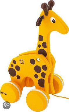 bol.com | Brio Giraffe Om Vooruit Te Trekken,Brio | Speelgoed