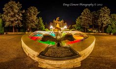 Humpday Photo! Great snap from @Doug Clement of the Victoria Centennial Fountain built to commemorate the four territories and colonies that formed British Columbia–Vancouver Island, Queen Charlotte Islands, British Columbia and the Stikine Territory. Share if you care!