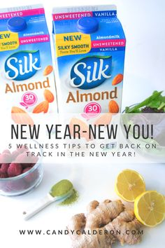 Who doesn't want to get back on track after all the holiday's shenanigans? But you don't need any crazy diet or deprive yourself... Getting back on track is quite easy and I'll show you how!   #ProgressIsPerfection #cbias #Ad @LoveMySilk @Walmart