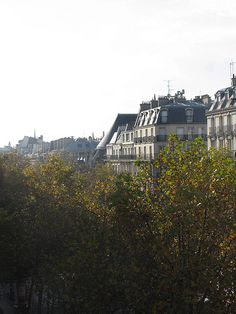 Autumn in Paris - boulevard Sébastopol, via Flickr.