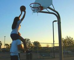 Image via We Heart It https://weheartit.com/entry/170990869 #Basketball #boy #couple #girl #love #sports