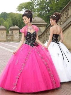 New Style Sweetheart Ball Gown/Pick Up Floor-length Quinceanera Dresses