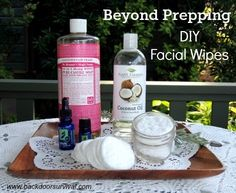 Survival Buzz: Beyond Prepping With Diy Facial Wipes : Survival Buzz: Beyond Prepping with DIY Facial Wipes diy makeup remover - Diy Makeup Homemade Makeup Brush Cleaner, Diy Makeup Brush Cleaner, Homemade Makeup Remover, Diy Makeup Wipes, Diy Makeup Bag, Makeup Hacks, Diy Makeup Remover Pads, Natural Makeup Remover, Eyeliner Hacks