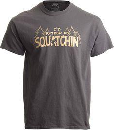 Vintage Gone Squatchin Bigfoot Sasquatch Squatch Back Print Long Sleeve Sweater for Man