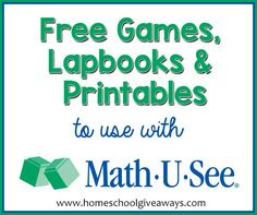 MATH U SEE Giveaway ~ Win a Complete Universal Set of Your Choice