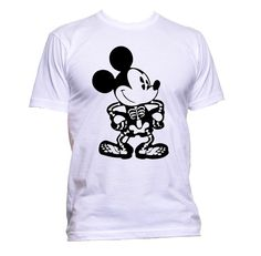 Skeleton Mickey Halloween T-shirt by MathesonGraphics on Etsy