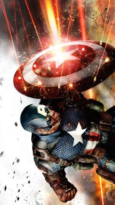 #avengers Captain America by John Gallagher * ...........Preorder Age Of Ultron Now! Get Some Killer Limited edition goodies! http://www.bestsellerlist.co.uk/2015/07/avengers-age-of-ultron.html