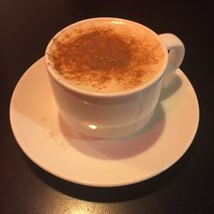 Chantilly Lounge Beatles Cafe in Liverpool, Liverpool  Aero hot chocolate, was quite nice and didn't separate somehow!