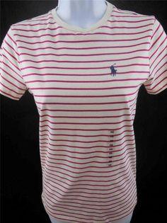 cd379644505b2 ALL ABOARD!!!! Womens Ralph Lauren sport short sleeve T-shirt PERFECT