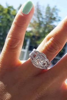 Unique engagement rings have creative amazing design so you can show your personality. Look at the engagement rings in different settings and styles!