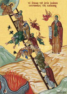 Orthodox Catholic, Orthodox Christianity, Christian Church, Christian Faith, Day Of Pentecost, Jacob's Ladder, Tarot, Religious Icons, Orthodox Icons